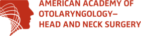 American Academy of Otolaryngology-Head and Neck Surgery logo of endorsement